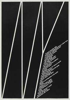 A. G. Fronzoni. Il Gergo Inquieto. 1981