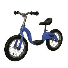 "KaZAM Kid's 12"" Balance Bike - Blue"