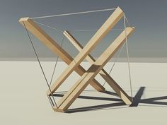 #expressionism #architecture tensegrity by kokelieb