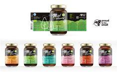 Organic Greek honey label series. Customer: Bionaturels - Proud to be small www.bionaturels.be