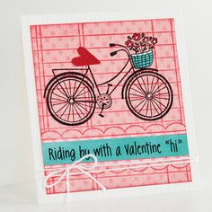 I have this stamp...I put hearts in the basket instead of the flowers for Valentine's day.