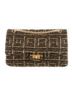Chanel Tweed Paris Byzance 2.55 Reissue Double Flap Bag