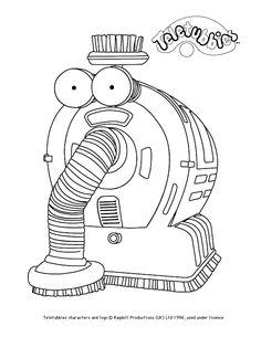 Noonoo colour-in