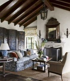 Incredible french country living room decor ideas (12)