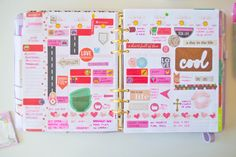 Holly's Planner: February in Review | Our Holly Days