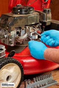 [orginial_title] – The Family Handyman Small Engine Start Up Tips Small Engine Start Up Tips Lawn Mower Maintenance, Lawn Mower Repair, Home Improvement Tv Show, Home Improvement Projects, Engine Start, Engine Repair, Diy Home Repair, Small Engine, Engineering
