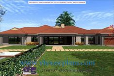 Overall Dimensions- x mBathrooms- 3 Car GarageArea- Square meters Tuscan House Plans, Family House Plans, Dream House Plans, Modern House Plans, House Floor Plans, The Plan, How To Plan, 6 Bedroom House Plans, Single Storey House Plans