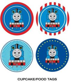Afbeeldingsresultaat voor free printable thomas the train cup cake toppers Thomas Birthday Parties, Thomas The Train Birthday Party, Trains Birthday Party, Train Party, Birthday Craft Gifts, Birthday Presents For Mom, Cupcake Toppers Free, Thomas And Friends, Third Birthday