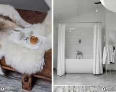 Bagno di luce Castorama tende da doccia Fly, bianco metropolitana stile piastrelle Castorama crasi Casa