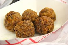 Boudin Balls Anyone? Easy and Perfect for this Holiday Weekend!! #Cajun