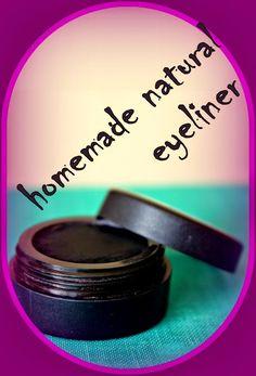 Recipes for natural cosmetics: Homemade Eyeliner & Eyeshadow