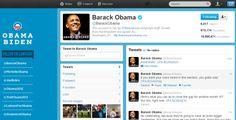 Perfil de Twitter de Obama