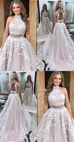 two piece graduation party gowns with appliqes,open back junior prom dresse. two piece graduation party gowns with appliqes,open back junior prom dresses for teens,light champagne long prom dresses Source by Jen_celine Blush Pink Prom Dresses, Junior Prom Dresses, Prom Dresses Two Piece, Cute Prom Dresses, Prom Dresses For Teens, Event Dresses, Homecoming Dresses, Cotillion Dresses, Casual Dresses