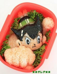 Astro Boy bento