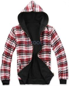 Red Plaid Cap Design Lovers Hoodie