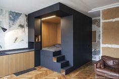 Le cube noir multifonctionnel, Batiik Studio - Côté Maison