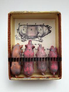 mano's welt: kunstschacheln 213 - 226 Intensieve veehouderij