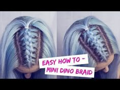 Unicorn Braid - Pull Through Braid Tutorial | LoveFings - YouTube