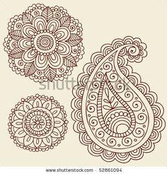 Cute Mandala tattoo idea