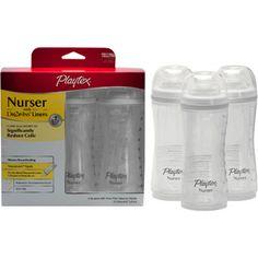Playtex 3 Pack Baby Drop-Ins Nurser, (drop in baby bottles) Baby Bottle Set, Best Baby Bottles, Drop, Baby Shower Gifts For Boys, Babies R Us, Reborn Babies, Bottle Feeding, Kids Store, Trendy Baby