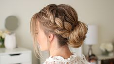 The french braid, pulled loose so it stands out combined with a low bun is a great style to have in your beauty routine. I love it for everyday but it's also a great style for work at the office or out for a special…