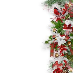 "Photo from album ""The Joy Of Christmas"" on Yandex. Christmas Frames, Christmas Tag, Christmas Photos, Christmas And New Year, Christmas Wreaths, Christmas Decorations, Holiday Decor, Christmas Card Background, Christmas Wallpaper"