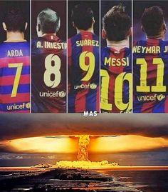 [NEXT MATCH] ⚽️ #Atlético_de_Madrid v @fcbarcelona Champions League Vicente Calderón 13/04 ⌚️ 20:45 CET #ForçaBarça Football Troll, Football Icon, Best Football Team, Fc Barcelona, Barcelona Football, Lionel Messi, Soccer Memes, Football Memes, Sports