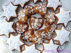 Joanna Siwak – Google+ Gingerbread Cookies, Christmas Cookies, Christmas Diy, Heart Cookies, Xmas Decorations, Sweet, Desserts, Projects, Food