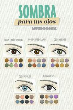 Sombras para cada color de ojos