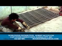 Cast Stone Consultants - Revolutionary method of producing concrete balusters - YouTube