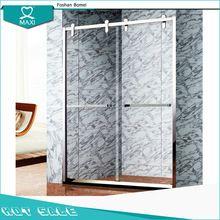 El acero inoxidable de ducha deslizante pantalla cubículo puerta M-28022