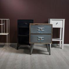 På Em home har vi en mängd olika sängbord i olika stilar och färger! Filing Cabinet, Nightstand, Storage, Table, Furniture, Home Decor, Purse Storage, Decoration Home, Room Decor