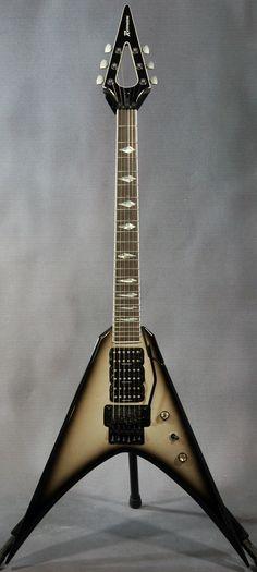 vee guitars | Abstract Villain Vee Guitar