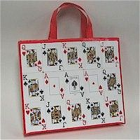 Recycled Playing Cards: Tote Bag