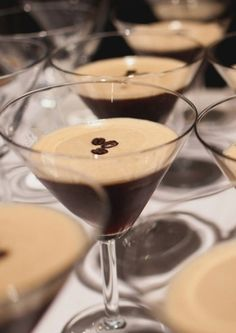 Espresso martinis are probably the most popular coffee-inspired cocktail.
