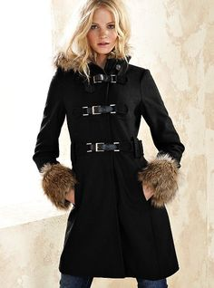 When I'm rich, I'm going to buy so many coats.