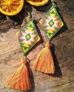 #aksesuar #miyuki #küpe #boncuk #boncuklu #etnik #baklava #püskül #accessory #earring #bead #beaded #diamondshape #ethnic #tassel #picoftheday #instadaily #instagood #instaaccessory #shopsta