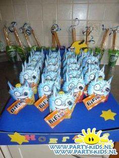 Dolfje Weerwolfje - Traktatie met drinken, Traktaties - En nog veel meer traktaties, spelletjes, uitnodigingen en versieringen voor je verjaardag of kinderfeest op Party-Kids.nl