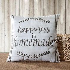 Farmhouse Vintage Quotes / Animal Decorative Throw Pillow (this is my happy place - Quotes & Sayings), Beige, 14 Karat Home(Polyester) Decorative Pillow Covers, Throw Pillow Covers, Decorative Throw Pillows, Diy Pillows, Pillow Ideas, Pillow Inspiration, Fluffy Pillows, Sewing Pillows, Custom Pillows