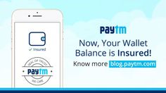 Paytm Wallet Insurance for Money Loss Due to Phone Theft or Fraud Transactions - http://www.inavitnews.com/paytm-wallet-insurance-money-loss-due-phone-theft-fraud-transactions/