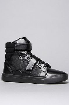 The Propulsion Hi Sneaker in Black Grid by AH by Android Homme 20% off rep code SHANE20 #karmaloop