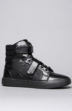 The Propulsion Hi Sneaker in Black Grid by AH by Android Homme 20% off rep code SHANE20 #karmaloop