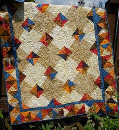 25% Off Coupon Code - Quilt Pattern PDF Instant Download - Autumn Gems - Tonga Treat, Layer Cake  & Fat Quarter Friendly EASY All Sizes