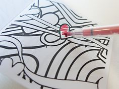 BUY: Stuart Semples My Happy Colouring Flip Book, in aid of the mental health charity Mind.