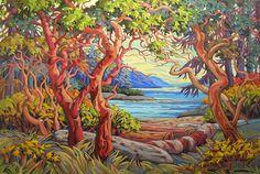 Shoreline Serenity by Greta Guzek