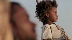Quvenzhané Wallis (AKA Nazie) in Beasts of the Southern Wild.  Gorgeous little sweetie.