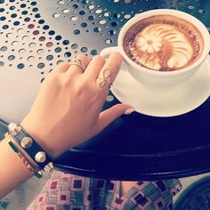 """Wildcat Boutique's Daily  Enjoying My #Latte ☕️ -#ring#gold#wildcatboutique#daily#ringstagram#jotd#jewelry#accessories#bangle#rockstuds#fashionring#missoni#balenciaga#dailylook#fashion#style#aotd#쥬얼리#악세사리#손스타그램#얼스타그램#링스타그램#반지#골드반지#팔찌#데일리룩#스타일#일상#와일드켓부띠끄"" Photo taken by @wildcat_boutique on Instagram, pinned via the InstaPin iOS App! http://www.instapinapp.com (08/24/2015)"