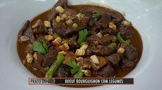 Boeuf bourguignon feito com carne de soja - Receitas - GNT