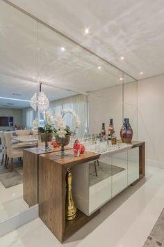 Sala de Jantar: Salas de jantar modernas por Silvana Borzi Design