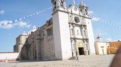Iglesia de Ejutla de Crespo, Oaxaca. Valles Centrales